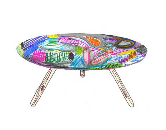 Mark-maker Table - стол и поле для творческой деятельности