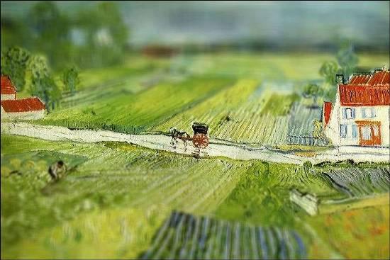 Картины Ван Гога под прицелом фотокамер