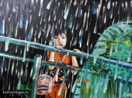 Дождь в Сингапуре