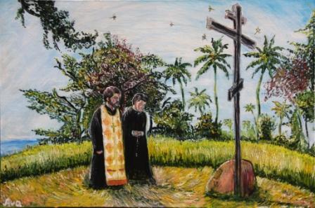 Отец Александр на острове Пенанг