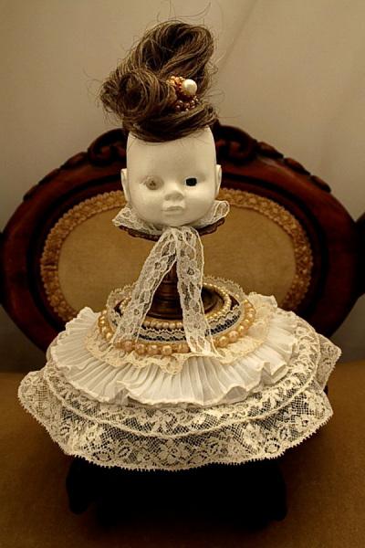 Коллекционные страшные куклы с элементами стимпанк в Викторианском стиле