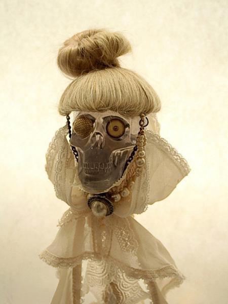 Коллекционная страшная steampunk-кукла Seiko Kato