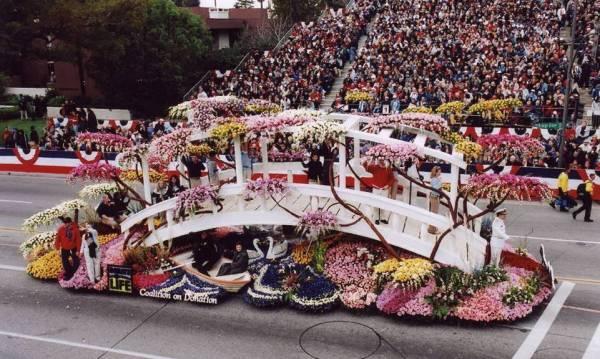 Парад роз в США