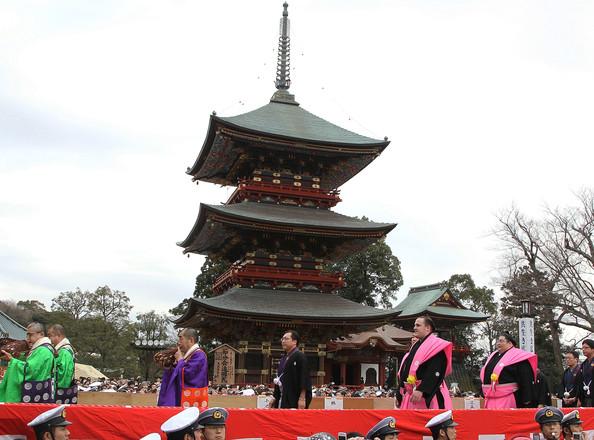 Соевые бобы прогоняют зиму в Японии