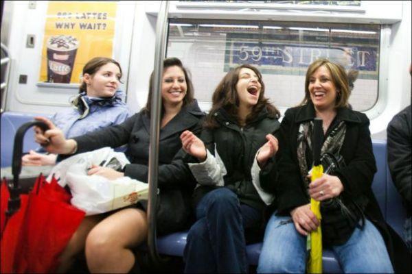 Пассажиры смеялись от души