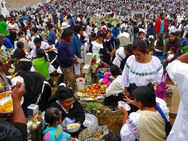 Праздник День Мёртвых отмечается по всей Мексике с размахом
