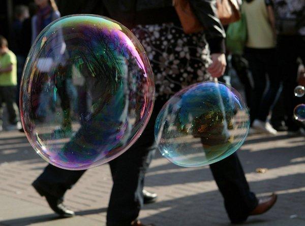 Мыльные пузыри от мала до велика