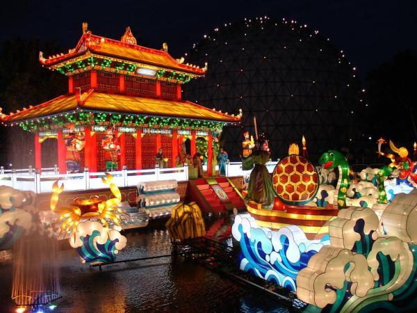 В дни праздника фонарей Китай становится одной из самых красивых стран мира