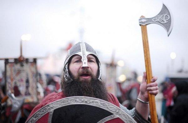 Викинги гуляют по Шотландии и по сей день