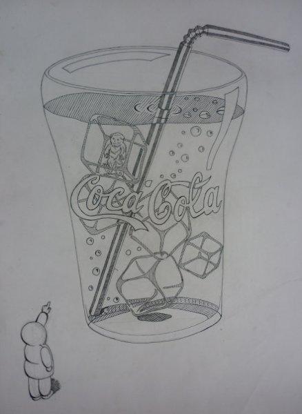Сoca-Cola (из серии 'Мир Большой – Я Маленький')