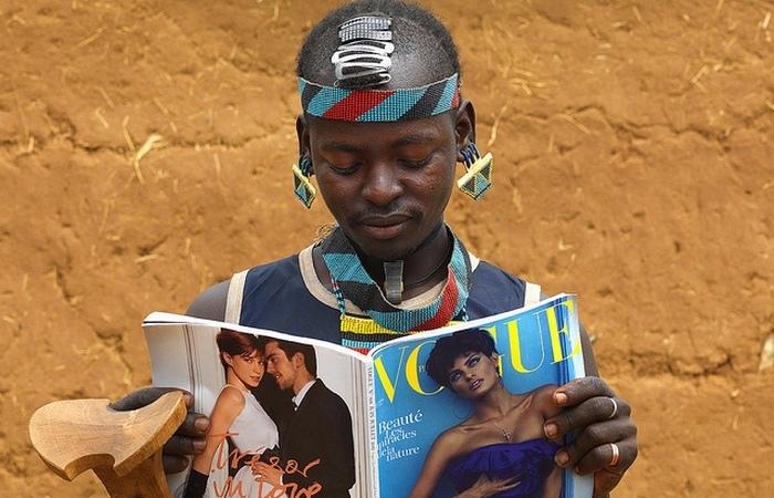 Модные тренды африканских племён.