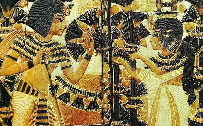Чувственность и сексуальность в Древнем Египте.