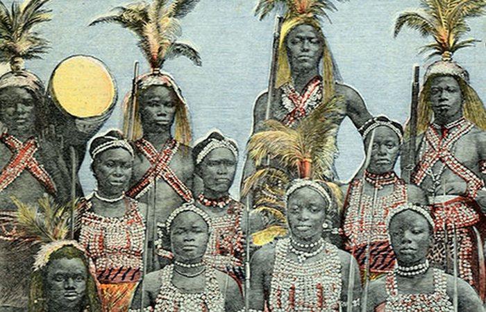 Дагомейские амазонки.