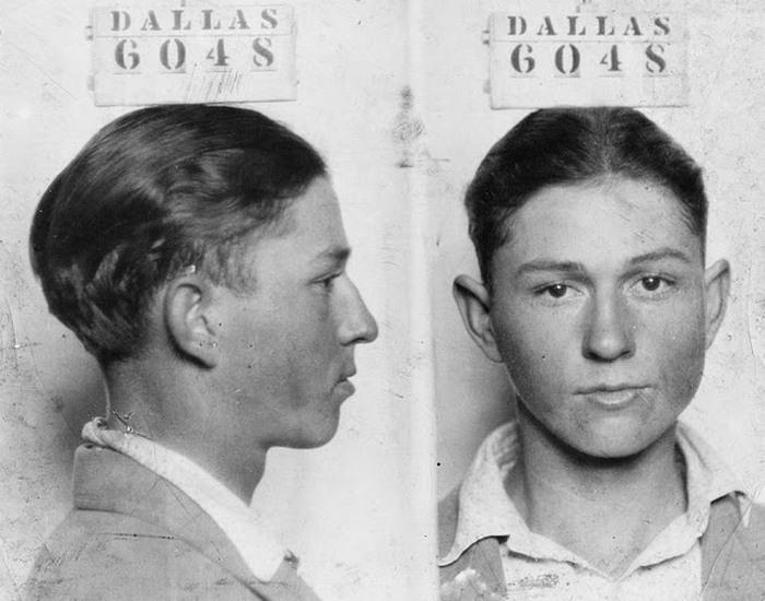 Клайд Барроу в 1926 году, в возрасте 16 лет.