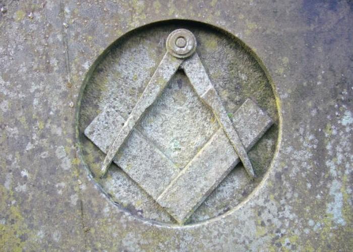 Самый распространенный символом масонства.