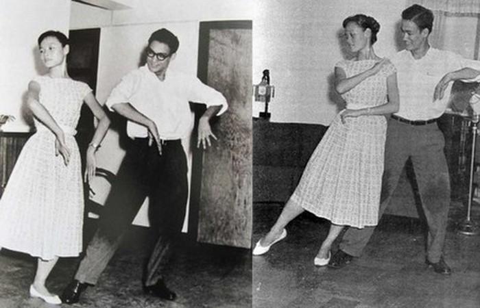 Чемпион Гонконга по танцу ча-ча-ча в 1958 году.