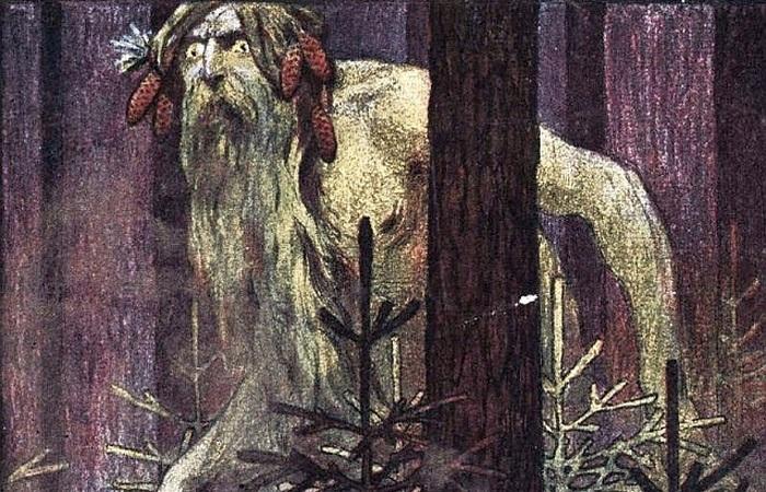 Дух леса у славян.