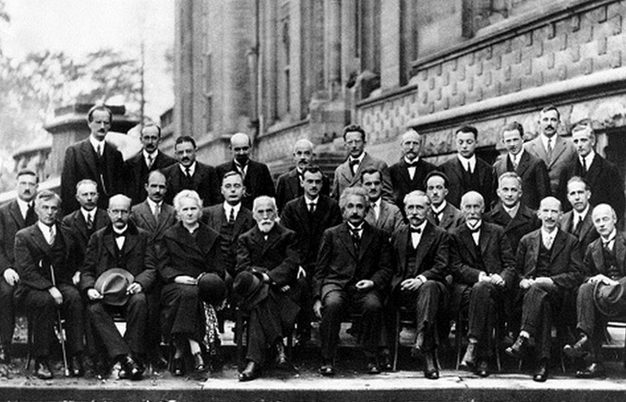 Самые известные физики на одном фото.