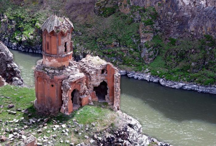 Город-признак Ани - древняя столица Армении.