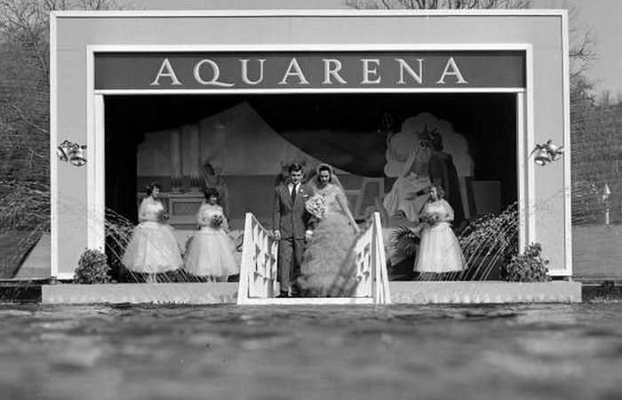 Акварена в Сан-Маркос - место, где проводятся подводные свадьбы.