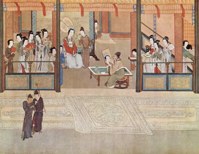 Пань Чжан и Ван Жонгксиэн.