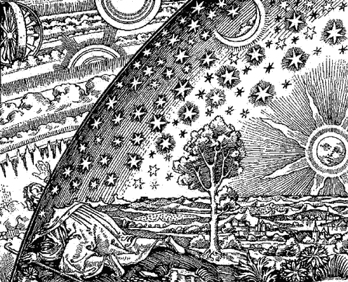 Средневековое представление о Вселенной.