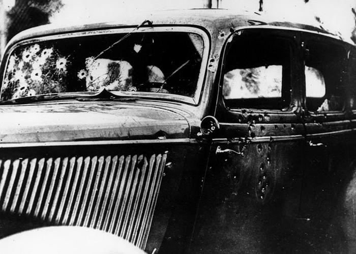 Автомобиль смерти Бонни и Клайда.