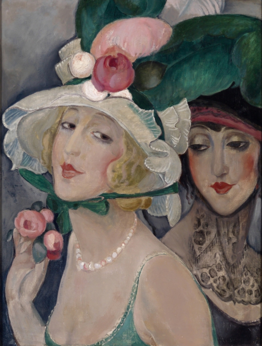 Такая необычная любовь на картинах Герды Вегенер.