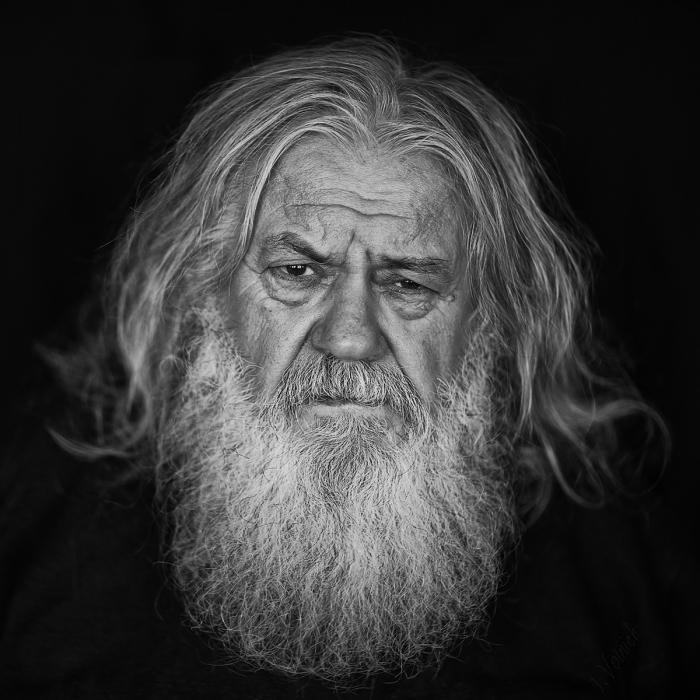 Художник Владимир Ткаченко. / Фото: Юлия Войнич.