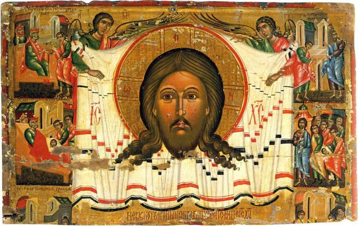 Древние иконы из музеев Львова.