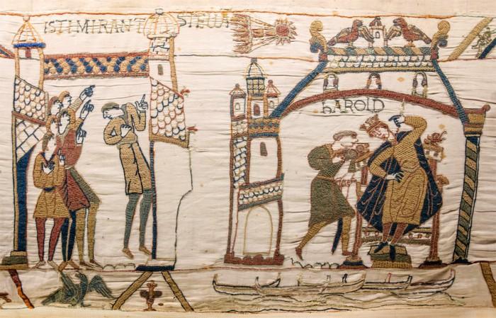 Гобелен. Британия. 1066 г.