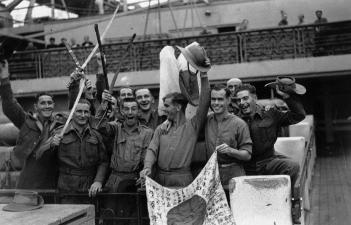 Редкие фотографии последних месяцев Второй мировой войны.