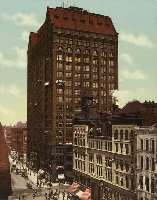 1892г. Самое высокое здание в мире.