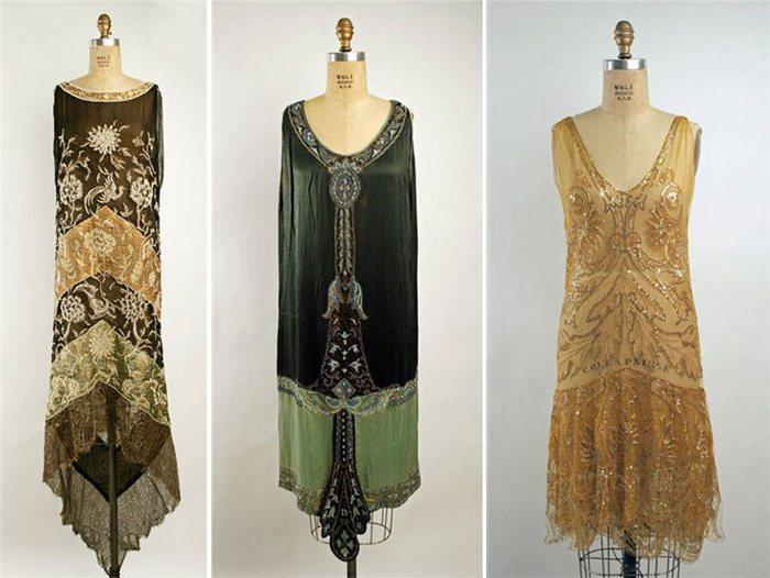Платья французского дома моды Callot Soeurs.