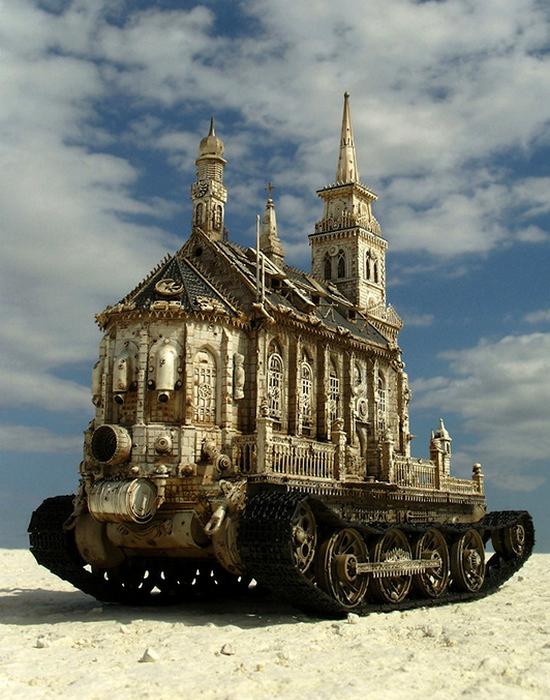 «Церковный танк».