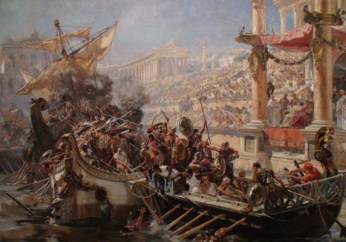 Затопленный Колизей.