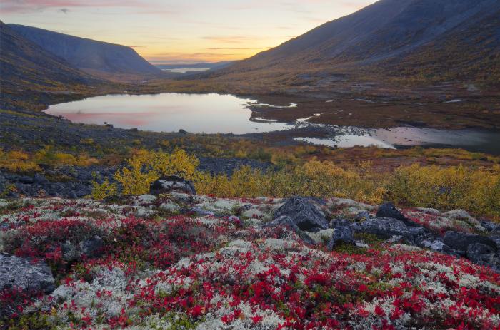 Осенние Хибины. / Фото: Александр Юсупов.