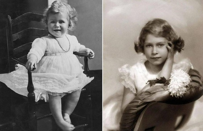 Детские фотографии принцессы Лилибет.
