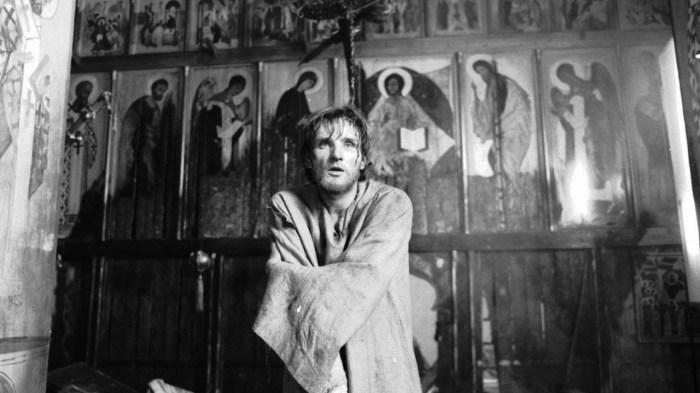 Кадр из фильма «Андрей Рублев» Андрея Тарковского.