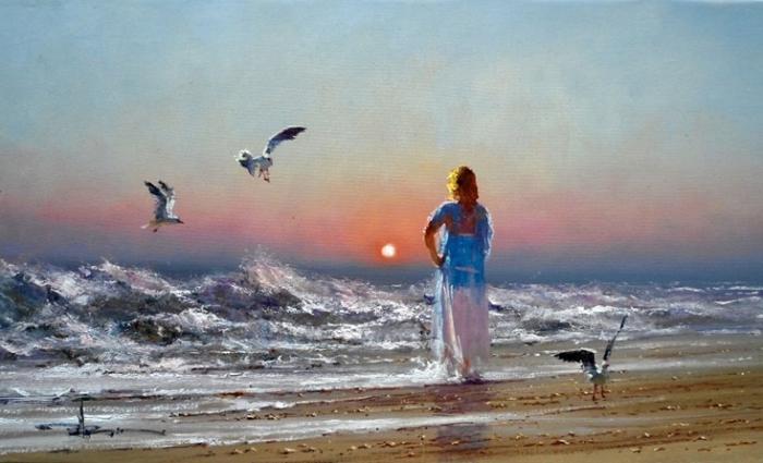 «Женщина всегда чуть-чуть, как море…»