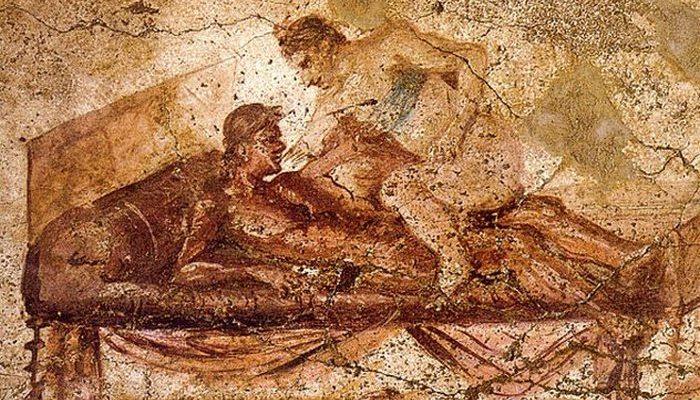 Рождение рекламы: бордели в Помпеях.