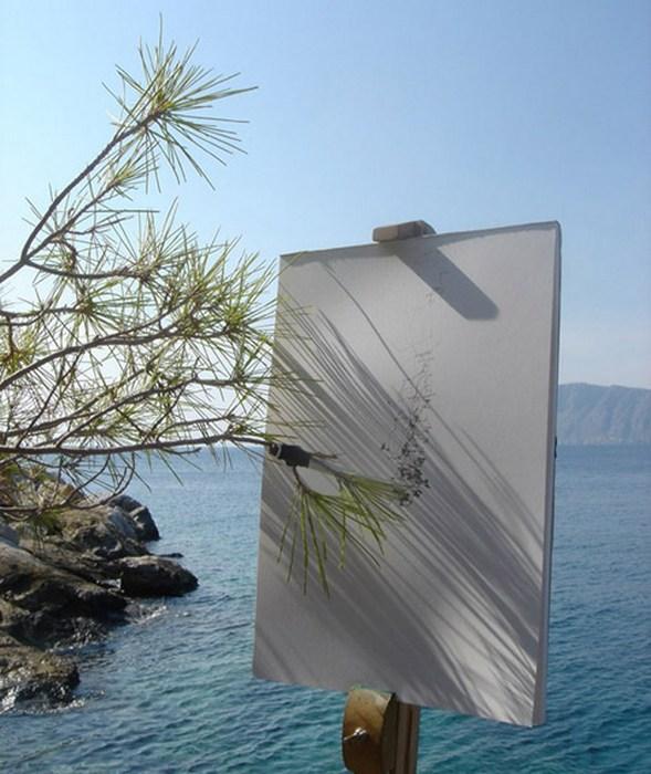 Вот такие пейзажи Тима Ноулза.