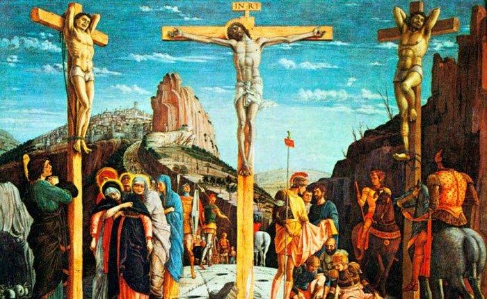 Разбойники, распятые рядом с Иисусом.
