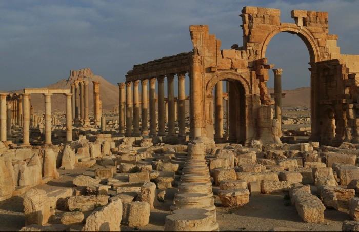 Архитектурные достопримечательности Ближнего востока, которых не стало.