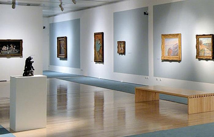 Первый американский музеей современного искусства.
