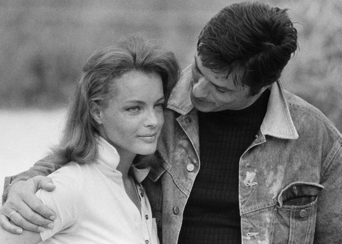 Ален Делон и Роми Шнайдер: проходят ли чувства. / Фото: picturesism.ru