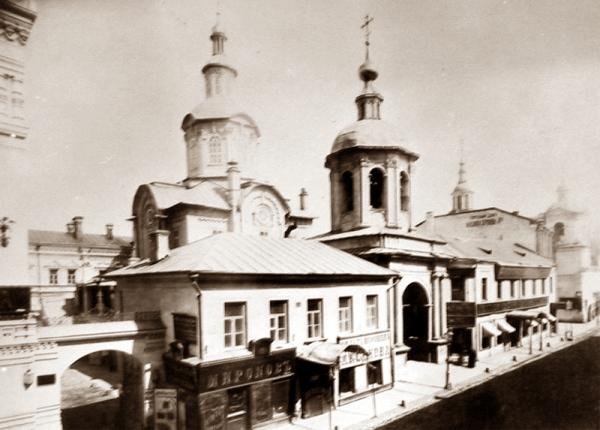 Заиконоспасский монастырь.