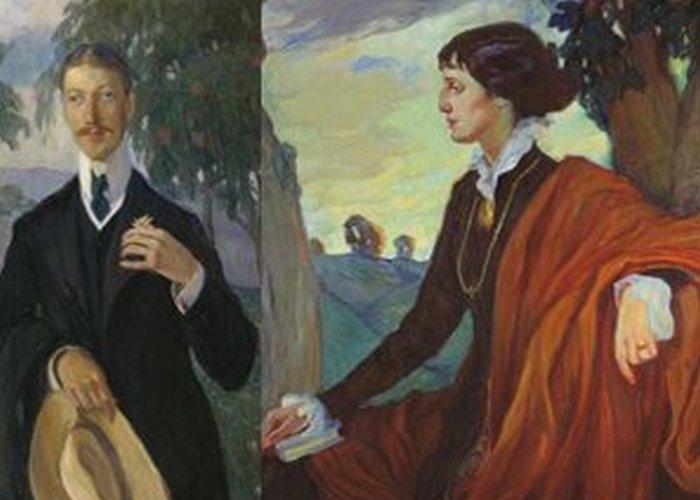 Два поэта - одна любовь./ Фото: fenixclub.com