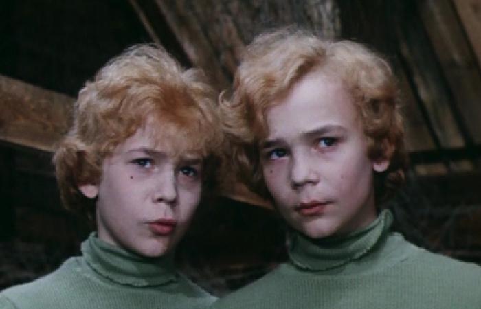 Кадр из фильма «Приключения Электроника», режиссер Константин Бромберг.