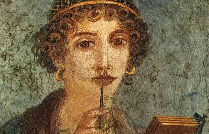 Поэтесса Анита Тегейская.